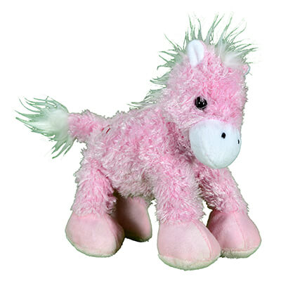 Girl's Plush Play Wobbly Pink Pony from Cowgirl Hardware