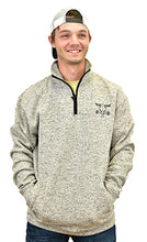Men's Barbed Skull Speckle Fleece Grey Cadet from Cowboy Hardware