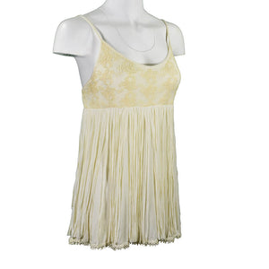 Women's Cream Fringe Camisole from Cowgirl Hardware