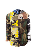 Load image into Gallery viewer, MIX CAMOUFLAGE PARKA JACKET