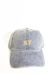 NY DENIM DAD HAT