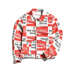 COCA-COLA TRUCKER DENIM