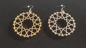 Twelve band earrings