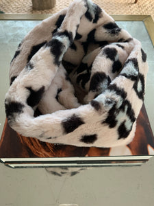 Rose Leopard Infinity Scarf