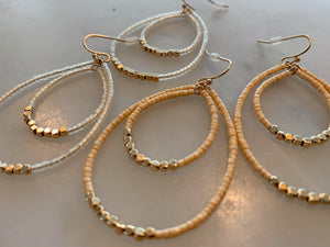 Simple Drops Earrings Set