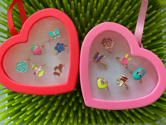 LOVEly Kids' Rings