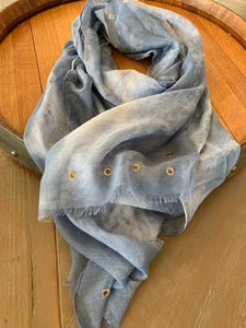 Rivet Scarf (Blue)