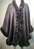 Draped in Fur Cape