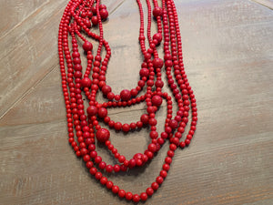Cascading Loops Necklace