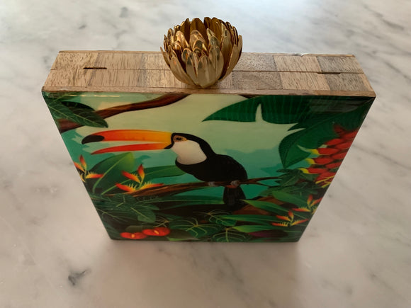 Lotus Bird Clutch Collection (TOOcan)