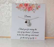 Cubic zirconia necklace for mother of the bride