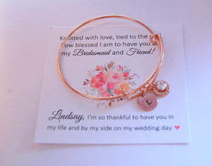 Bridesmaid Bracelet Set
