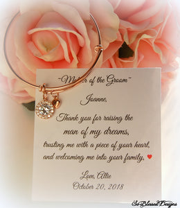Rose Gold Bracelet for Mother of the Groom