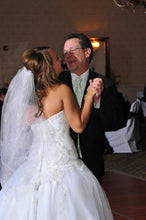 Bride dancing with her Daddy on wedding day