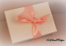 So Blessed Designs gift box with pink bow