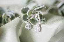 cubic zirconia earrings for your bridesmaids