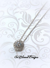 elegant cubic zirconia necklace is great gift for mother of the groom