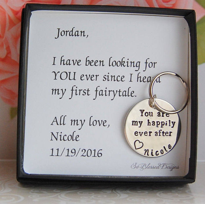 You are my happily ever after keychain