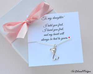 Daughter necklace from mother