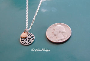 Mother of the Bride/Mother of the Groom Family tree necklace - So Blessed Designs