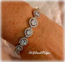 Mother of the Bride CZ bracelet