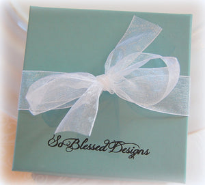So Blessed Designs gift box with bow