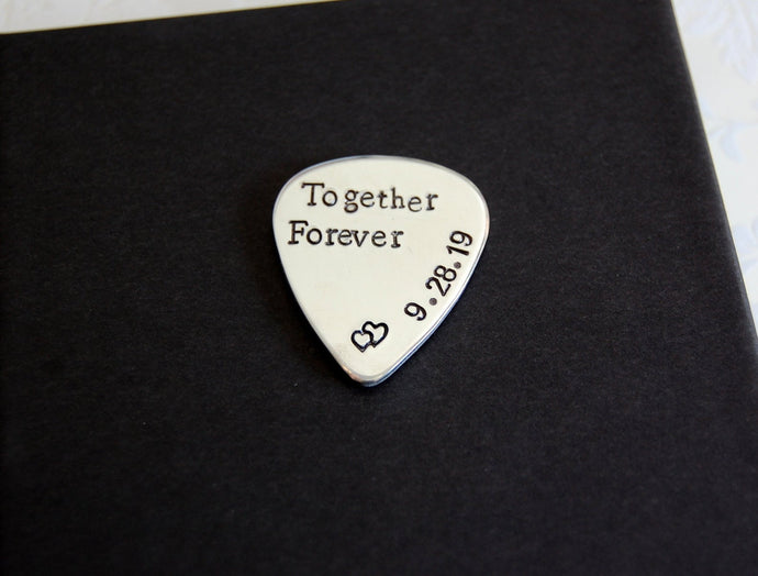 Together Forever guitar pick