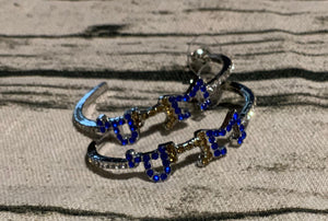 Sigma Gamma Rho Hoop Earrings