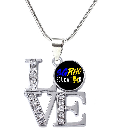Love SGRho Educator Necklace