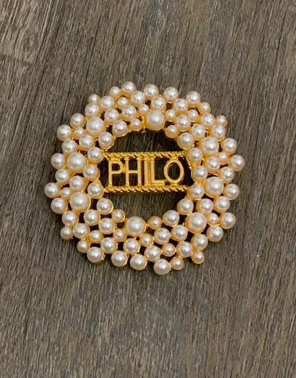 Philo Pearl Pin
