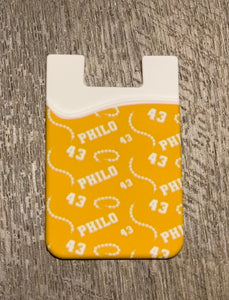 Philo Silicon Phone Card Holder