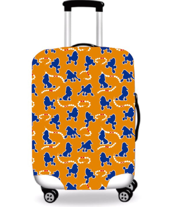 Poodle and Pearls Luggage Cover