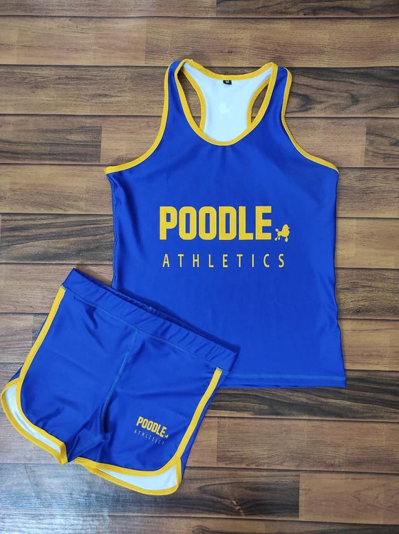 Poodle Tank and Shorts