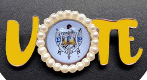 Sigma Gamma Rho Vote Pin