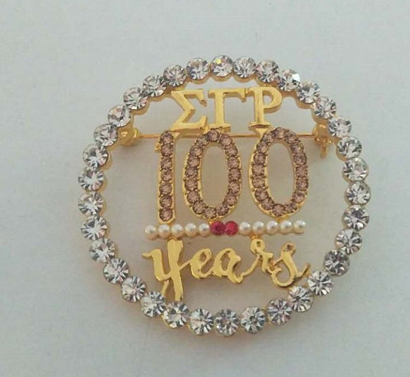 100 years pin *presale July 30th*