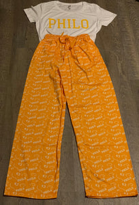 Philo PJ Pants Set