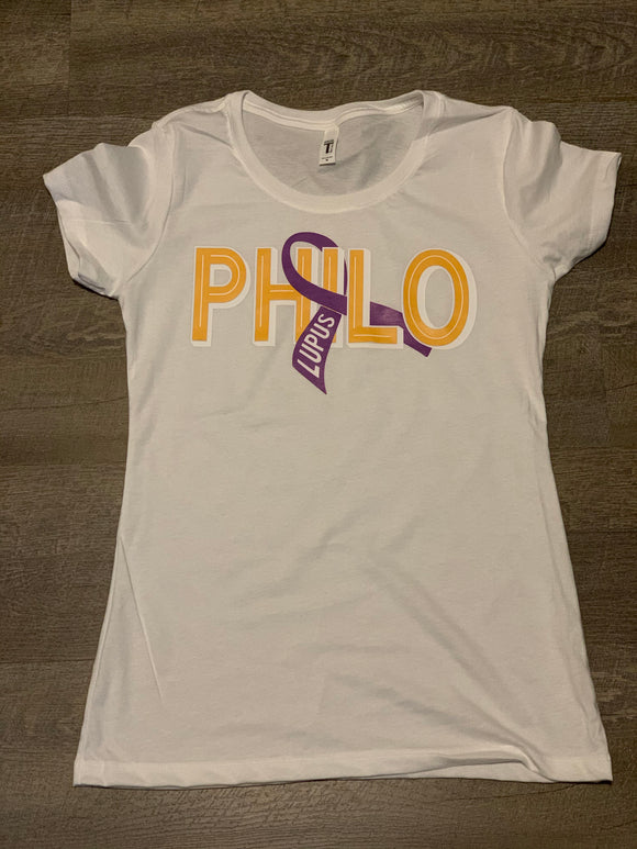 Lupus Awareness Philo Tee