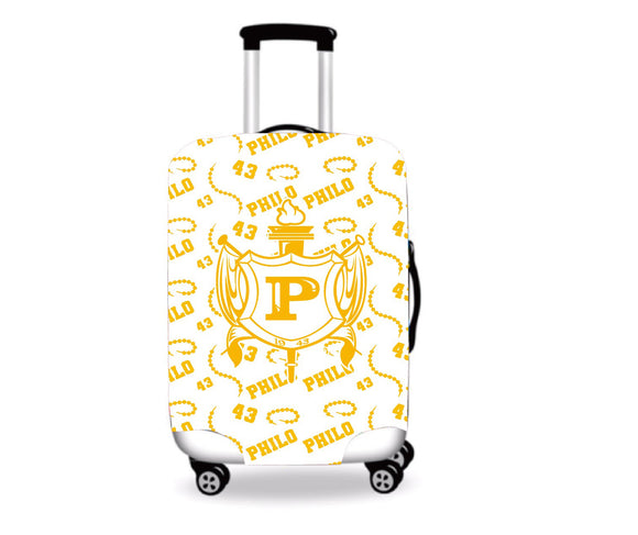 Philo Luggage Cover White