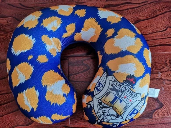 SGRHO Travel Neck Pillow Cheetah Print