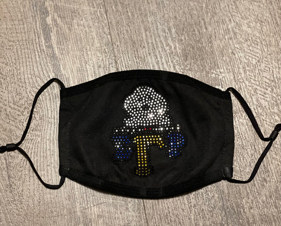 Sgrho Bling Face Mask
