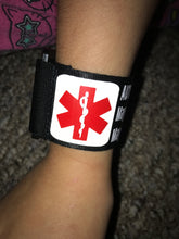 Autism Reflective Medical Alert Bracelet Adjustable