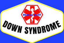Down Syndrome Stick-N-Go Reusable Any Diagnosis Waterproof