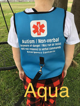 Custom Printed Safety Vest with Leash