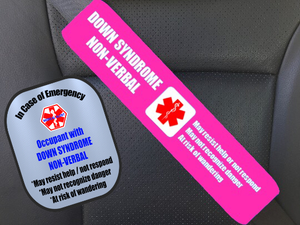Down Syndrome Non- Verbal Safety Set / Custom Order
