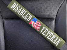 Disabled American Veteran Seat Belt Cover