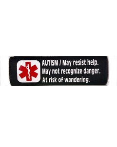 Car Seat/Harness Autism Medical Alert Seat Belt Cover