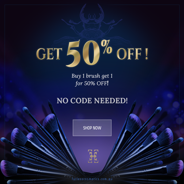 BUY 1 GET 1 FOR 50% OFF!