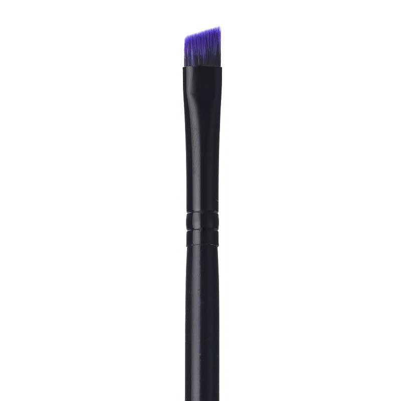 PURPLE ANGLED LINER BRUSH