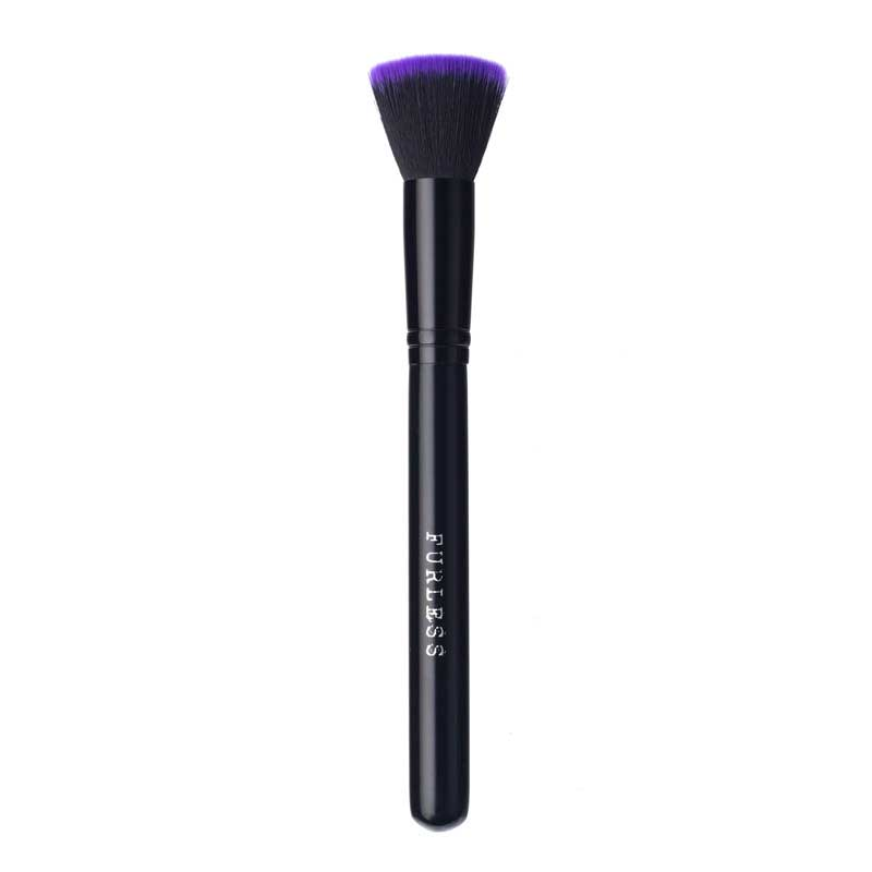 PURPLE FLAT TOP BUFFING FOUNDATION BRUSH
