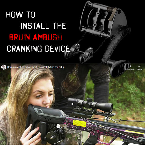 How to install the Bruin Ambush Crank Cocking Device